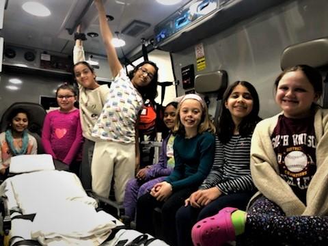 Girl Scout Troop Visits ASM