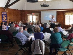 ASM Presents to East Hartford Rotary Club