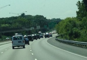 ASM in Motorcade and on Standby During Vice Presidential Visit
