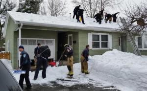 Manchester First Responders Finish Shoveling Job After Homeowner Dies