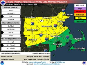 Severe Weather Potential for Friday into Friday Night