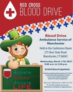 Celebrate St. Patrick's Day by Donating Blood
