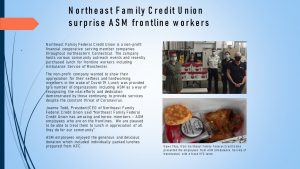 Northeast Family Credit Union Surprises ASM