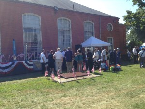 Aetna On Hand for Rocky Hill Veteran's Home '2015 Stand Down'